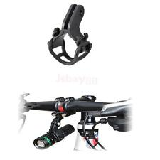 Bike Bicycle Flashlight Torch Front Light Mount Clip Stand Bracket Holder