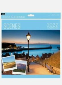 2022 SQUARE MONTH TO VIEW WALL CALENDARS - MANY DESIGNS - SCENES