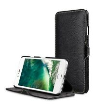 """Melkco Premium Leather Case for Apple iPhone 8 (4.7"""") - Booka Stand BLACK H1281"""