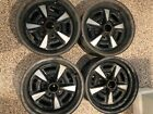 Pontiac Rally II Wheels Set of Four (4) OEM (very minor surface rust only)
