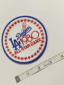 Vintage 1980 LA Dodgers All-Star Game Jersey Patch - RARE!!!