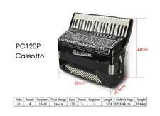 L. Polverini 1889 Fisarmonica Accordion Cassotto PC120P 41/120