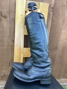 Ariat Bromont Long Leather Riding Boots Size 6