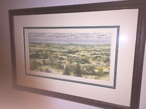 """Limited Edition Susan Hunt-Wulkowicz """"A Summer Tapestry"""" Etching! #174/300"""