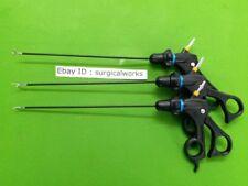 Laparoscopic Curved Hook Scissor Maryland Grasper Instruments Set Special 3 mm