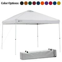 Instant Canopy Tent, 10x10 Square Pop Up Sun Shelter Outdoor Event Party Gazebo