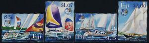 Fiji 1024-7 MNH Yacht Racing, Musjet Cover to Port Vila