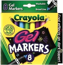 Crayola Gel Fx Washable Markers - 8 Count - #58-8163