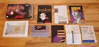 Final Fantasy III 3 iii FF - Super Nintendo SNES RPG Map Box Complete CIB Lot !!
