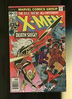 Uncanny X-Men #103, FN 6.0, Juggernaut, Wolverine, Storm, Black Tom, Banshee
