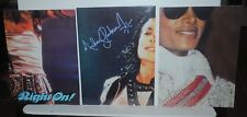 Michael Jackson poster lot from Right On! magazine, 3 diff., 2-sided no pinholes