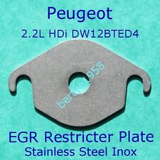 EGR VALVE Restrictor Peugeot 407 607 807 4007 2.2 HDi Fiat Ulysse JTD Blanking H