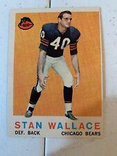1959 Topps Set Break #159 Stan Wallace Bears