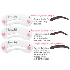BIOAQUA Brow Class Eyebrow Card Modeling Makeup Pencil Brush 3 Forms