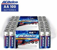 SALE! ACDelco AA Super Alkaline Batteries in Recloseable Package, 100 Count