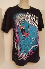 Killswitch Engage Metalcore Rock Band Black Teal Cotton T-Shirt M~FREE S/H HTF