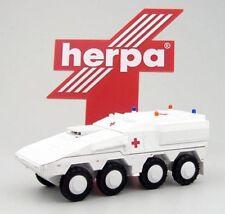 Herpa Militärfahrzeugmodelle mit OVP im Maßstab 1:87
