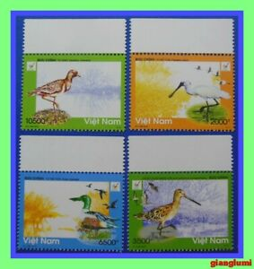 Vietnam Withdrawn stamp - Birds in Xuan Thuy national park MNH