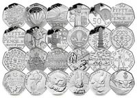 Royal Mint commemorative circulated collectable 50ps