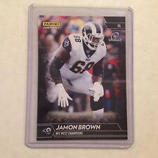 Jamon Brown #196 RC Rams / Louisville 1/1 Made 2017 Panini Instant Black NFL
