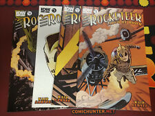 Rocketeer Cargo of Doom (IDW 2012) #1-4 (1,2,3,4) Mark Waid Chris Samnee