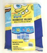 SPONGE BOB VALANCE Squarepants Nickelodeon 50 x 17 in microfiber NEW