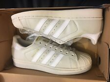 NEW ADIDAS ORIGINALS SUPERSTAR TALC WHITE METALLIC GOLD SHOES BW1304 MEN  SIZE 11 ca57d7a6c