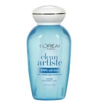 L'Oreal Clean Artiste 100% Oil-Free Eye Makeup Remover 4 oz 118 ml