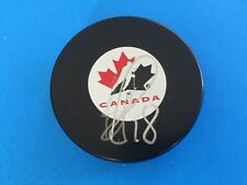 Bryan Little Canada Hockey Signed Auto Puck W/COA