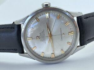 1958 Omega 2852-3 SC Constellation Chronometer Cal 505 Original Dial Stainless