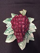 Rare Vintage Original McCoy Grape Wall Pocket McCoy Grapes