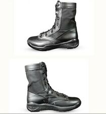 Mens Mid Xalf Desert Boots High Top Lace Up Leather Combat Boots Military Shoes