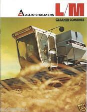 Farm Combine Brochure - Allis-Chalmers - L M - Gleaner - c1975  (F3505)
