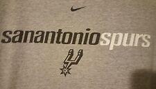 Vintage Nike San Antonio Spurs PRE-OWNED Size 2XL Gray/ White T-Shirt 1999