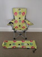 Pair of Used Good condition Trespass kids camping chairs