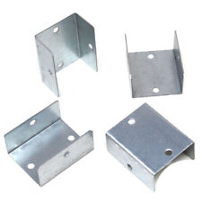 More details for fence panel clips galvanised fence post brackets decking - 32mm 38mm 44mm 50mm