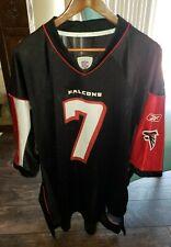 NFL Equip Reebok Atlanta Falcons Black Breathable Jersey Michael Vick #7 Sz XL