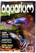 Aquarium Magazine  n°31 - Eau Calcaire/ Clair Obscur/ Serpents/ Lifting Gratuit