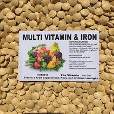 Multivitaminas Y Hierro 60 Tabletas ~ uno por día (L)