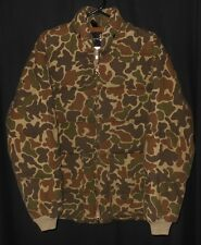 Vtg Down Coat Deer Hunter Camouflage Browning Camping Hunting Urban Style Small
