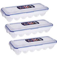 lock & lock 12 eggs box refrigerator Egg storage box food containers holder 3Pcs