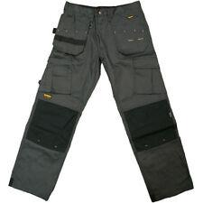 Pantalones de hombre grises grises de sintético