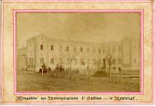 Rhône, Monastère des Dominicains d'Oullins  Vintage albumen print.  Tirag