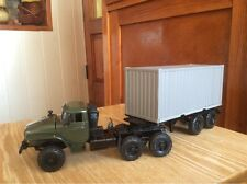 URAL 44202 container  1:43 USSR car russian model