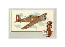 HERGé/TINTIN 195x  CHROMO L AVIATION 1939/45  N°10 TBE