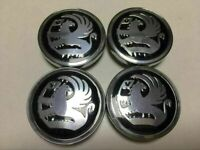 60mm Vauxhall Alloy Wheel Centre Hub Caps X4 for Corsa Astra Vectra