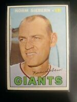 1967 TOPPS #299 Norm Siebern Giants ExMt