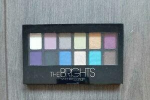 Maybelline New York 12 Color The Brights Eyeshadow Palette