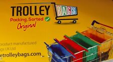 TROLLEY BAGS Grocery Packing Sorting System The Original 4 Bag Set