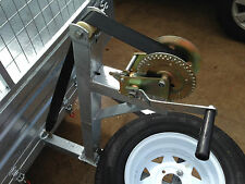 WINCH POST GALVANIZED TRAILER WINCH 1400LB ALL NEW
